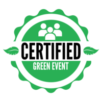 Hanna Breunig and Certified Green Event logo