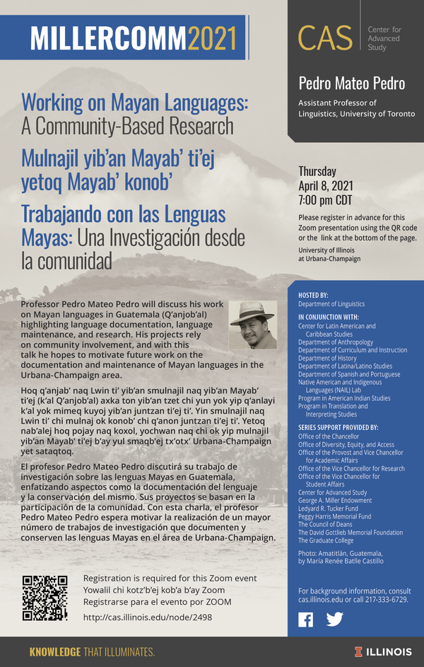 Working on Mayan Languages Flyer