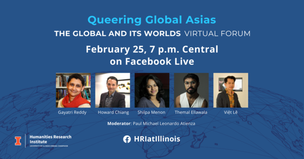 Queering Global Asias panelist photos