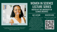 Flyer for Ruby Mendenhall lecture