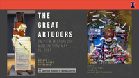 flyer the great artdoors
