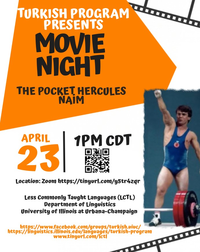 "Turkish Program Movie Night: ""The Pocket Hercules Naim (Cep Herkülü Naim)"""